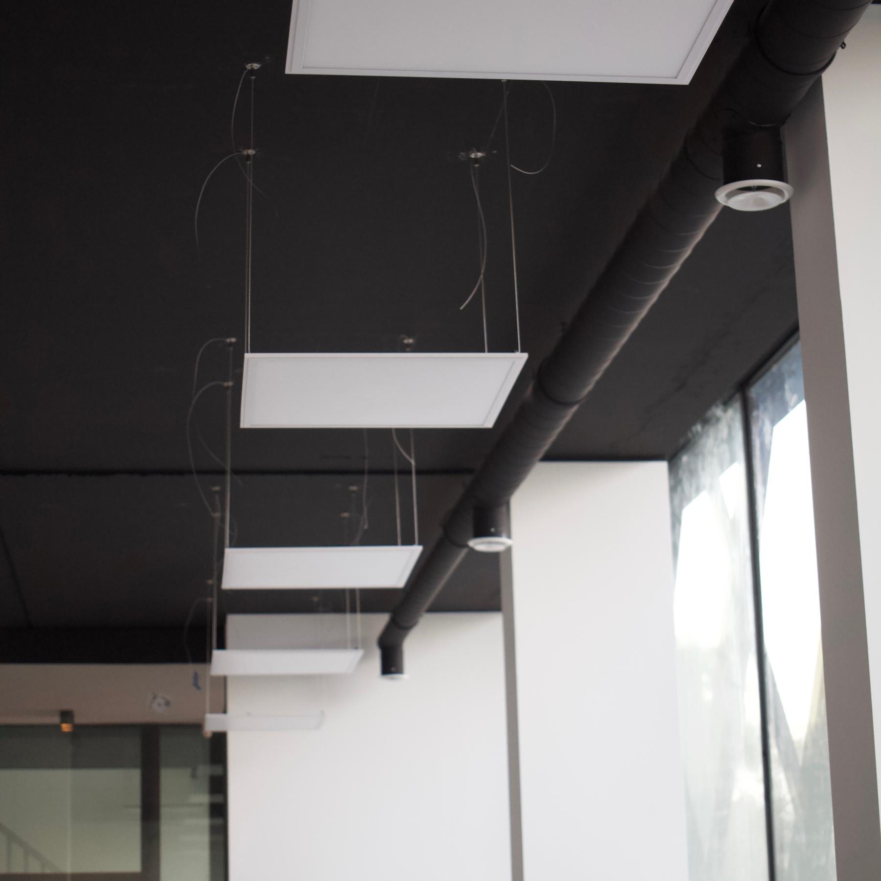 Lichtstudie - Led verlichting Kantoor units Viaa